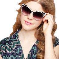 Chevron and On Sunglasses