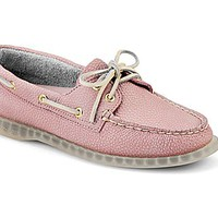 Cloud Logo Authentic Original Clear Sole 2-Eye Boat Shoe