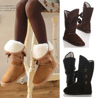 FASHION WOMEN'S GIRL'S WINTER SNOW WARMER 4 COLORS BOOTS SHOES FREE SHIPPING  LX