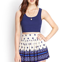 Free Spirit Pixilated Skirt