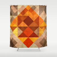 Burning Shower Curtain by SensualPatterns
