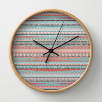 BOHO Wall Clock by Nika | Society6