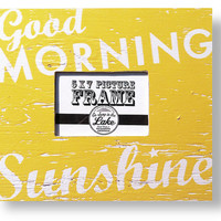 Good Morning Sunshine 5 x 7 Photo Frame