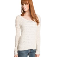 Long Sleeve Hi-Lo Sweater