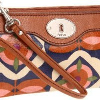 Fossil Key-Per Wristlet