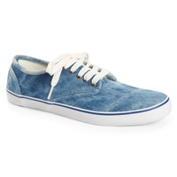 Denim Wash Canvas Sneaker