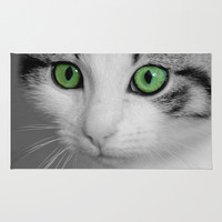 KITTURE Area & Throw Rug by Catspaws | Society6