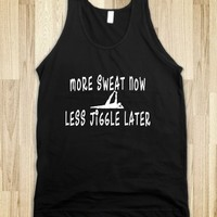 Funny Exercise Motivational Sayings Tank Shirt - Tops for women and men