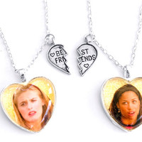 CLUELESS FRIENDSHIP NECKLACES - Default Title