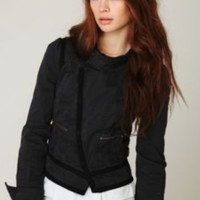 Shrunken Moto Jacket at Free People Clothing Boutique