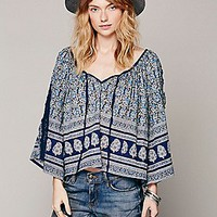 Eternal Sunshine Creations Printed Peasant Top