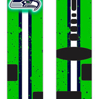 Seahawks Custom Nike Elite Socks