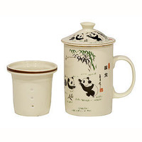 Panda Filter Mug | Tea Time | World Market