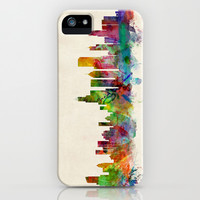 Chicago City Skyline iPhone & iPod Case by ArtPause