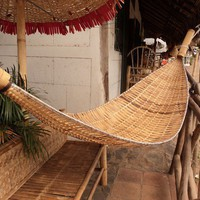 Bamboo Hand Made Hammock Free Shipping World by craftsnicaragua