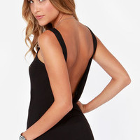 Rhythm My Scoop Black Tank Top