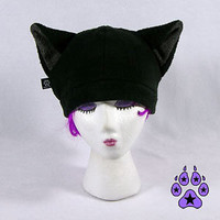 EARS Goth AGF FURRY Cosplay SKI CAT Kitty Anime Hat MEW