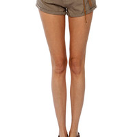 Papaya Clothing Online :: ROPE BELTED LINEN SHORTS