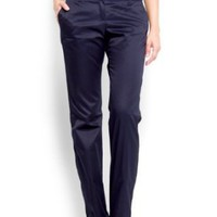 Mango Women&#x27;s Straight-leg Chino Trousers