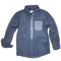 POLARN O. PYRET VERSATILE DENIM BUTTON DOWN (BABY)