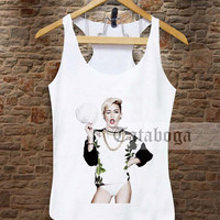 miley cyrus hat Tank by tataboga
