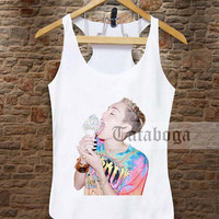 MIley Cyrus Ice Cream Movie Tank by tataboga