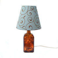 Cointreau Orange Lamp With White Lights