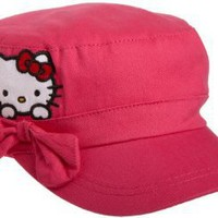 Berkshire Girls 7-16 Hello Kitty Cadet Hat