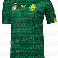 2014 World Cup Cameroon Home Soccer Jersey [20140411001] - $79.00 : 2014fifajersey!, The wholesale store of soccer jerseys., Brazil 2014 world cup soccer jerseys store.