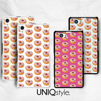 Yummy Doughnuts colorful donut phone case for Sony Xperia Z, Z1, Z1s, Z2, Z1 compact, Z Ultra - soft case / hard case - L68
