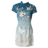 Unforgettable Tom Ford for Gucci embroidered silk dress