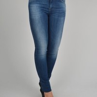 Diesel Skinzee 0826F Super Slim Jeans - Denim