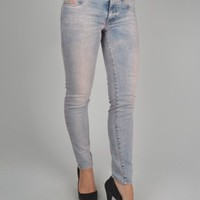 Diesel Livier Ankle-SP 0605V Jegging Jeans - Light Blue