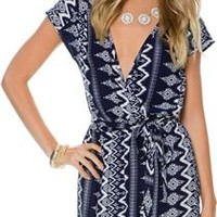 SWELL LOLA AZTEC PRINT DRESS
