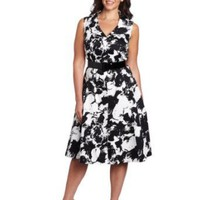 Jones New York Women's Sleeveless Full Dress