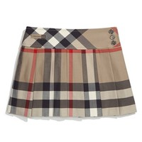 Burberry Check Print Skirt (Big Girls) | Nordstrom