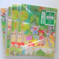 Vintage Wizard of Oz Gift Wrap Brand New 1980s