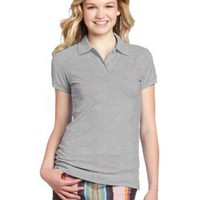Dickies Girl Junior's Shortsleeve Pique Polo