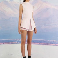 FINDERS KEEPERS Take A Bow Playsuit POWDER PINK