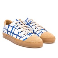 CARVEN | Graphic Printed Canvas Trainers | Browns fashion & designer clothes & clothing