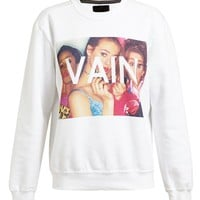 UNTITLED AND CO | Unisex Clueless Vain Motif Sweatshirt | Browns fashion & designer clothes & clothing