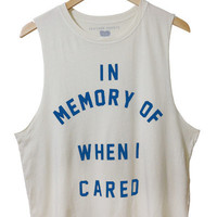 In Memory - Ivory (Mens Fit) - M / IVORY