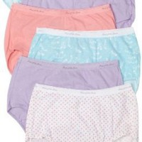 Fruit of the Loom Women's 6-Pack Cotton Wardrobe Briefs