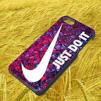 just do it nike iphone 4 4s 5 5s 5c galaxy s3 s4 hard case rubber cover plastic
