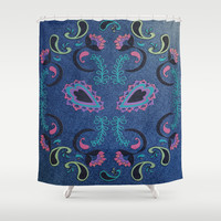 Pocket Patch Shower Curtain by Nina May | Society6