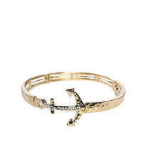 Papaya Clothing Online :: RHINESTONED ARROW BRACELET