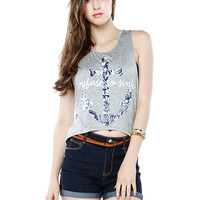 Papaya Clothing Online :: GRAPHIC SLEEVELESS TOP