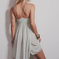 Intimately Womens Embroidered Babydoll Slip