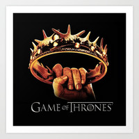 "Juego ""Games Of Thrones"" Art Print by Nostromo"