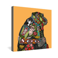 Sharon Turner Chimpanzee Love Gallery Wrapped Canvas ~ 10% off with code: sharonturner